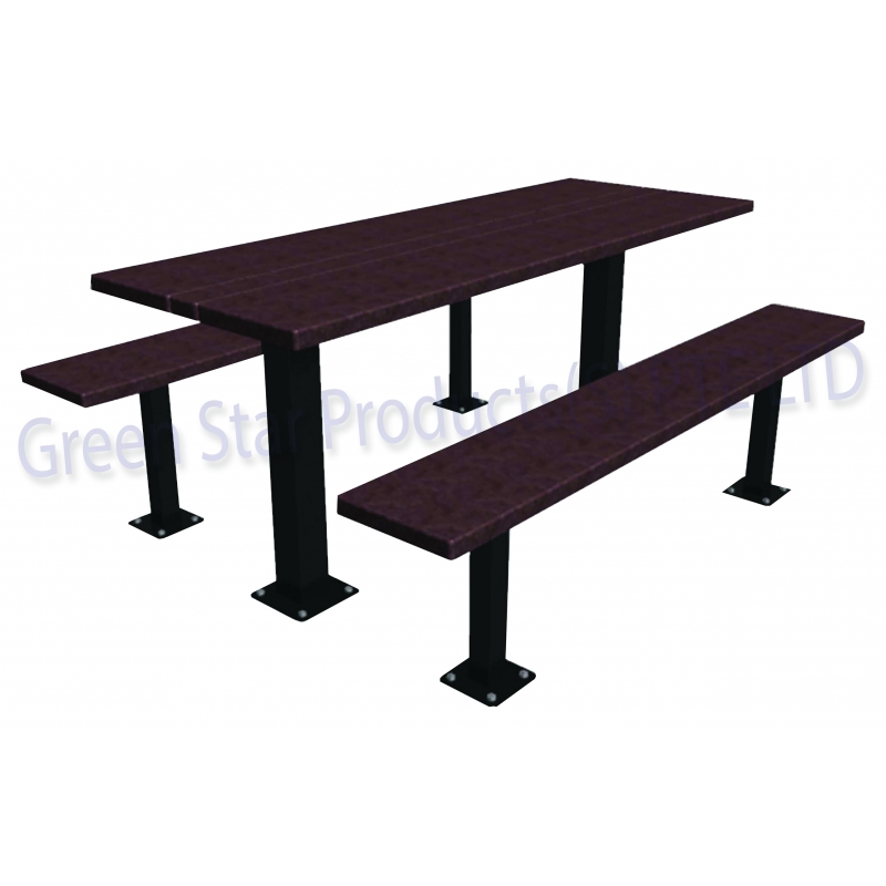 Recycled Plastic Lumber RPL - Picnic table recycled plastic lumber